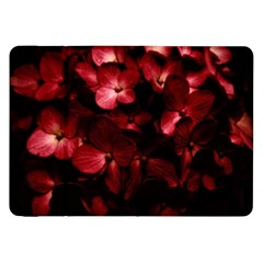 Red Flowers Bouquet in Black Background Photography Samsung Galaxy Tab 8.9  P7300 Flip Case