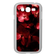 Red Flowers Bouquet in Black Background Photography Samsung Galaxy Grand DUOS I9082 Case (White)