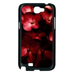 Red Flowers Bouquet in Black Background Photography Samsung Galaxy Note 2 Case (Black)