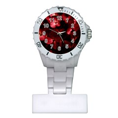 Red Flowers Bouquet In Black Background Photography Nurses Watch