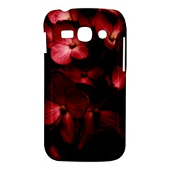 Red Flowers Bouquet in Black Background Photography Samsung Galaxy Ace 3 S7272 Hardshell Case