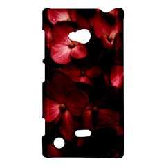 Red Flowers Bouquet In Black Background Photography Nokia Lumia 720 Hardshell Case