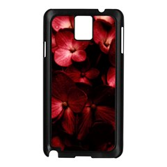 Red Flowers Bouquet in Black Background Photography Samsung Galaxy Note 3 N9005 Case (Black)