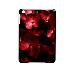 Red Flowers Bouquet In Black Background Photography Apple Ipad Mini 2 Hardshell Case