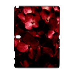 Red Flowers Bouquet In Black Background Photography Samsung Galaxy Note 10 1 (p600) Hardshell Case