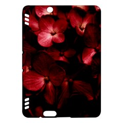 Red Flowers Bouquet in Black Background Photography Kindle Fire HDX Hardshell Case