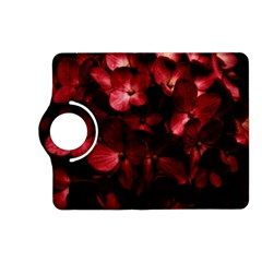 Red Flowers Bouquet in Black Background Photography Kindle Fire HD (2013) Flip 360 Case