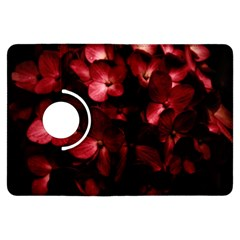 Red Flowers Bouquet in Black Background Photography Kindle Fire HDX Flip 360 Case