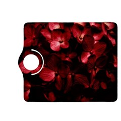 Red Flowers Bouquet in Black Background Photography Kindle Fire HDX 8.9  Flip 360 Case