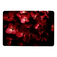Red Flowers Bouquet In Black Background Photography Samsung Galaxy Tab Pro 10 1  Flip Case