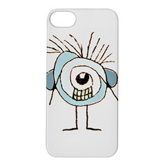 Cute Weird Caricature Illustration Apple iPhone 5S Hardshell Case