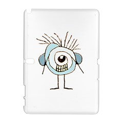 Cute Weird Caricature Illustration Samsung Galaxy Note 10.1 (P600) Hardshell Case
