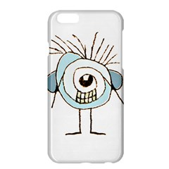 Cute Weird Caricature Illustration Apple iPhone 6 Plus Hardshell Case