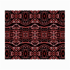 Tribal Ornate Geometric Pattern Glasses Cloth (small, Two Sided)