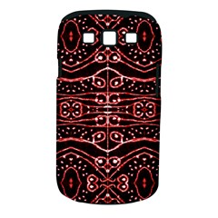 Tribal Ornate Geometric Pattern Samsung Galaxy S III Classic Hardshell Case (PC+Silicone)
