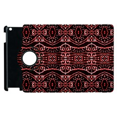 Tribal Ornate Geometric Pattern Apple Ipad 3/4 Flip 360 Case