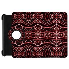Tribal Ornate Geometric Pattern Kindle Fire Hd Flip 360 Case
