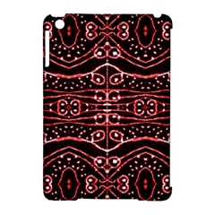 Tribal Ornate Geometric Pattern Apple Ipad Mini Hardshell Case (compatible With Smart Cover)