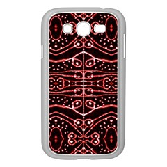 Tribal Ornate Geometric Pattern Samsung Galaxy Grand DUOS I9082 Case (White)