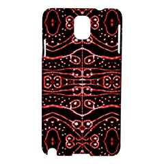 Tribal Ornate Geometric Pattern Samsung Galaxy Note 3 N9005 Hardshell Case