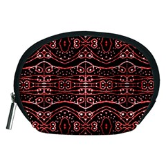 Tribal Ornate Geometric Pattern Accessory Pouch (Medium)