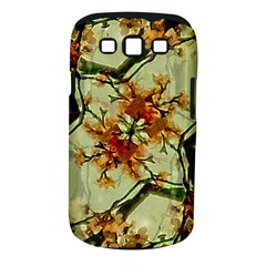 Floral Motif Print Pattern Collage Samsung Galaxy S III Classic Hardshell Case (PC+Silicone)
