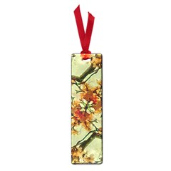 Floral Motif Print Pattern Collage Small Bookmark