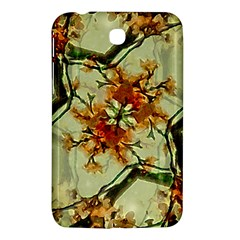 Floral Motif Print Pattern Collage Samsung Galaxy Tab 3 (7 ) P3200 Hardshell Case