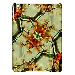 Floral Motif Print Pattern Collage Apple iPad Air Hardshell Case