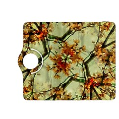 Floral Motif Print Pattern Collage Kindle Fire HDX 8.9  Flip 360 Case