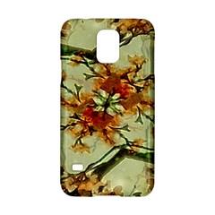 Floral Motif Print Pattern Collage Samsung Galaxy S5 Hardshell Case