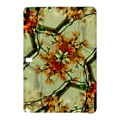 Floral Motif Print Pattern Collage Samsung Galaxy Tab Pro 10.1 Hardshell Case