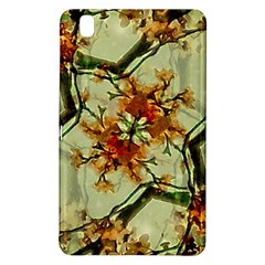 Floral Motif Print Pattern Collage Samsung Galaxy Tab Pro 8 4 Hardshell Case