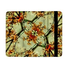 Floral Motif Print Pattern Collage Samsung Galaxy Tab Pro 8.4  Flip Case