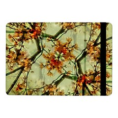 Floral Motif Print Pattern Collage Samsung Galaxy Tab Pro 10.1  Flip Case