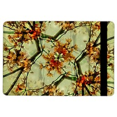 Floral Motif Print Pattern Collage Apple Ipad Air 2 Flip Case