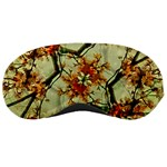Floral Motif Print Pattern Collage Sleeping Mask Front