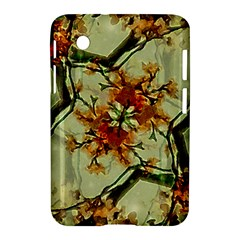 Floral Motif Print Pattern Collage Samsung Galaxy Tab 2 (7 ) P3100 Hardshell Case