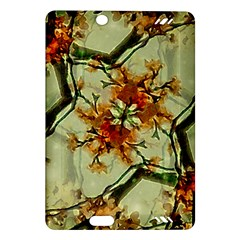 Floral Motif Print Pattern Collage Kindle Fire HD (2013) Hardshell Case