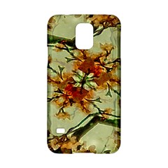 Floral Motif Print Pattern Collage Samsung Galaxy S5 Hardshell Case