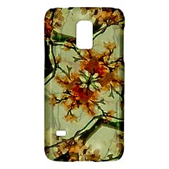Floral Motif Print Pattern Collage Samsung Galaxy S5 Mini Hardshell Case