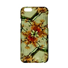 Floral Motif Print Pattern Collage Apple iPhone 6 Hardshell Case