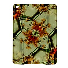 Floral Motif Print Pattern Collage Apple iPad Air 2 Hardshell Case