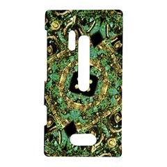 Luxury Abstract Golden Grunge Art Nokia Lumia 928 Hardshell Case