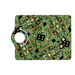 Luxury Abstract Golden Grunge Art Kindle Fire HD (2013) Flip 360 Case