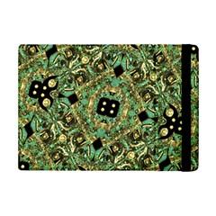 Luxury Abstract Golden Grunge Art Apple iPad Mini 2 Flip Case