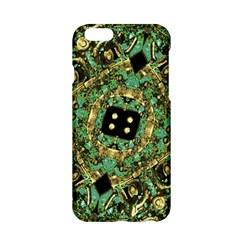 Luxury Abstract Golden Grunge Art Apple Iphone 6 Hardshell Case