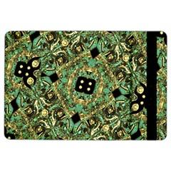 Luxury Abstract Golden Grunge Art Apple iPad Air 2 Flip Case