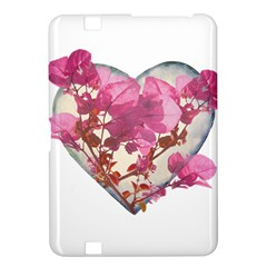 Heart Shaped with Flowers Digital Collage Kindle Fire HD 8.9  Hardshell Case