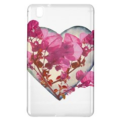 Heart Shaped with Flowers Digital Collage Samsung Galaxy Tab Pro 8.4 Hardshell Case